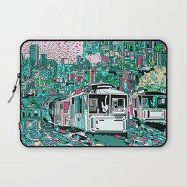 san francisco city skyline Laptop Sleeve