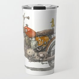 Birdie's Bike Travel Mug