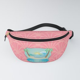 Life is a beach Fanny Pack