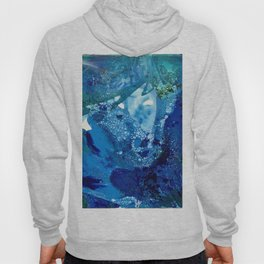 Environmental Blue Leaves, Tiny World Collection Hoody