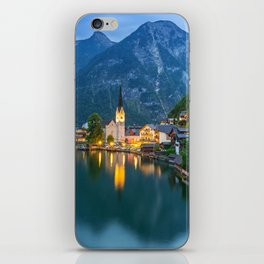 Hallstatt Village, Alps iPhone Skin