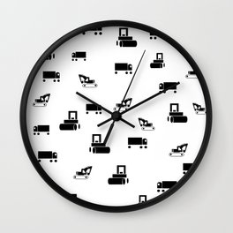 Boys Toys Wall Clock