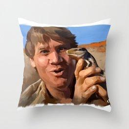 Crikey Throw Pillow