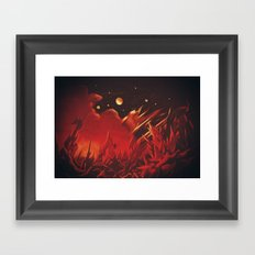 A View from Planet Hell Framed Art Print