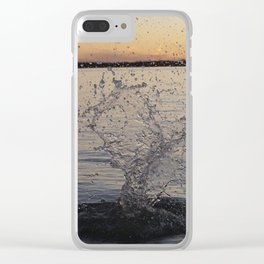 Waco Water Splash Clear iPhone Case