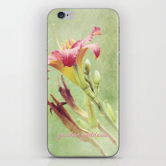 Garden Goddess iPhone & iPod Skin