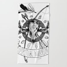 Spiritual Warrior Beach Towel