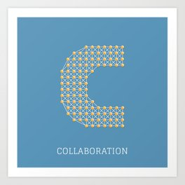 Collaboration Art Print
