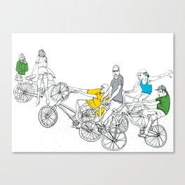 Fix crew Canvas Print