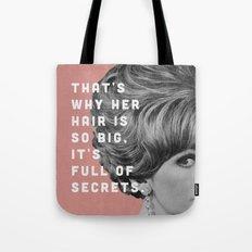 Full of Secrets Tote Bag