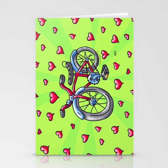 Bike Love Stationery Cards