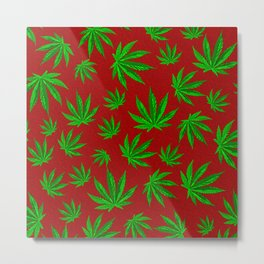 Smoke weed every day Metal Print
