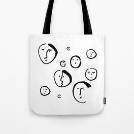 Wondering Heads Tote Bag