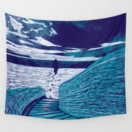 A Sanctuary Closed Wall Tapestry