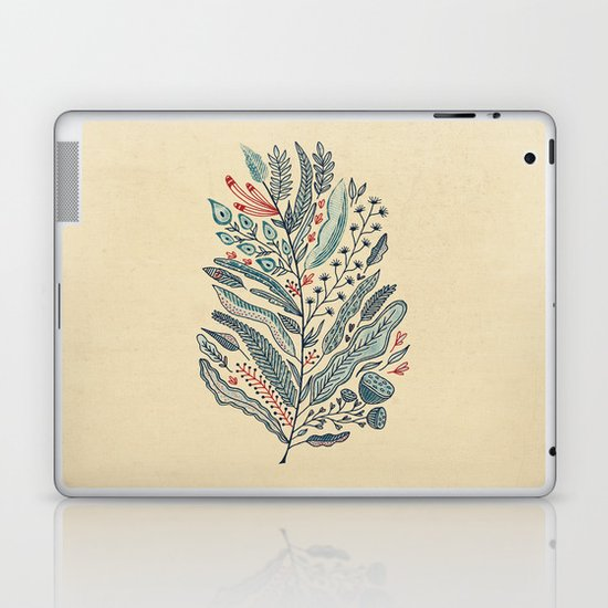 Turning Over A New Leaf Laptop & iPad Skin