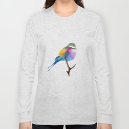 The Lilac-breasted Roller Long Sleeve T-shirt
