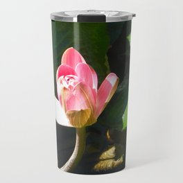 Hanalei Lotus, by Mandy Ramsey, Haines, AK Travel Mug