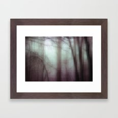 Through The Thicket Framed Art Print