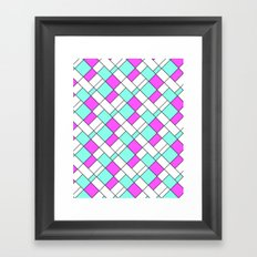 Geometric , abstract 23 Framed Art Print
