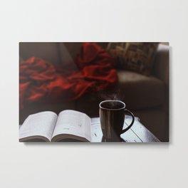 Morning Read Metal Print