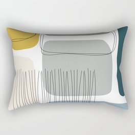 Abstract Shapes 01 Rectangular Pillow