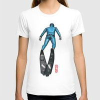 scuba T-shirts featuring Scuba Diver by Wulff