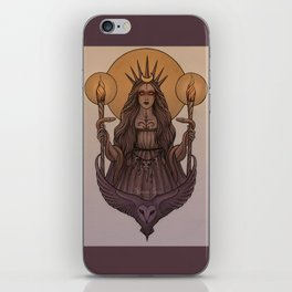 Goddess Hecate iPhone Skin