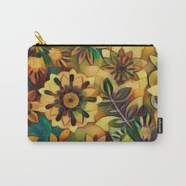 A Floral Dance Carry-All Pouch