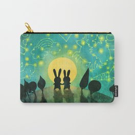 Bunny Constellation Gazing Carry-All Pouch
