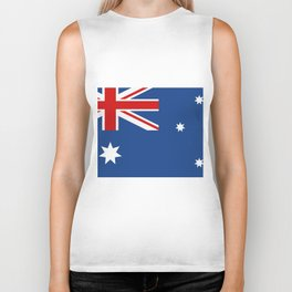 australia flag Biker Tank