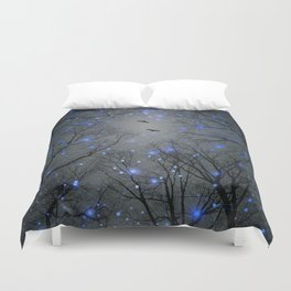 The Sight of the Stars Makes Me Dream Duvet Cover
