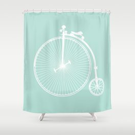 Vintage Love 2 Shower Curtain