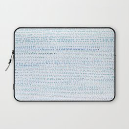 BLUE/GREEN DOTTED PATTERN  Laptop Sleeve