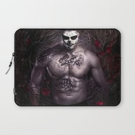 Blake Leaf trapped between darkness and light Laptop Sleeve