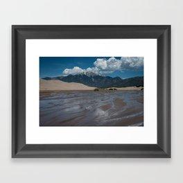 The Great Sand Dunes Framed Art Print