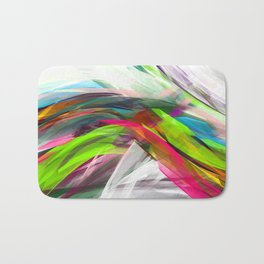 Summer Wave Bath Mat
