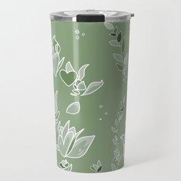 Succulent Sunshine- Beauty Flourishes in the Sun Travel Mug