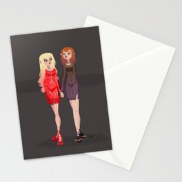 Goth Girls! Stationery Cards
