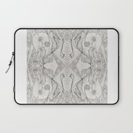 Lines (oh, let's enjoy the wild unknown, baby!) Laptop Sleeve