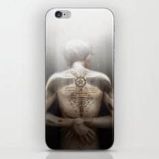 Cas - Tattoos iPhone Skin