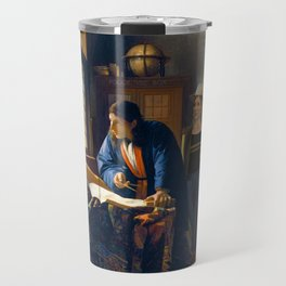 The Doctor and Vermeer's Geographer Travel Mug