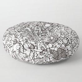 Phosphenes Schematic Floor Pillow