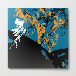 abstract 52 Metal Print