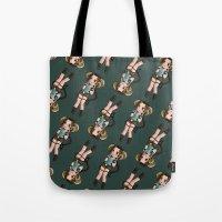 lara croft Tote Bags featuring ARIES LARA CROFT by Zim | Shop