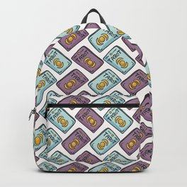 Mystical Seamless Vector Pattern of Set of Tarot Cards Backpack