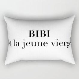 BIBI et la jeune vierge Rectangular Pillow