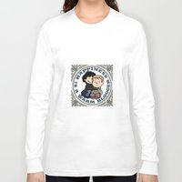 johnlock Long Sleeve T-shirts featuring Happiness Is A Warm Blogger by Marlowinc