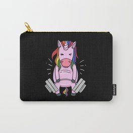 Weightlifting Unicorn | Fitness Training Carry-All Pouch