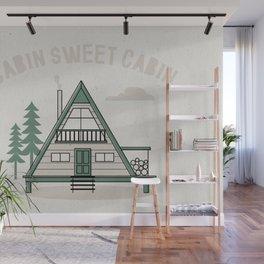 Cabin Sweet Cabin Wall Mural