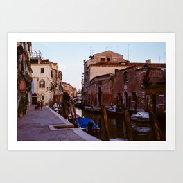 Stroll through Cannaregio  Art Print